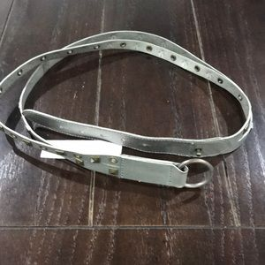 Hollister leather belt NWT